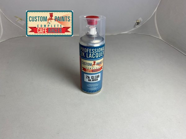 Picture 2k clear gloss lacquer 400ml aerosol