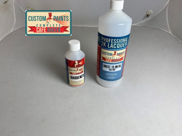 Picture direct to metal clear lacquer